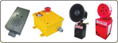 Emergency Alarm & Emergency Siren with Battery backup