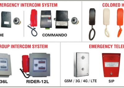 Elevator Intercom | Lift Intercom | Group Intercom | Elephone | SOS Phone