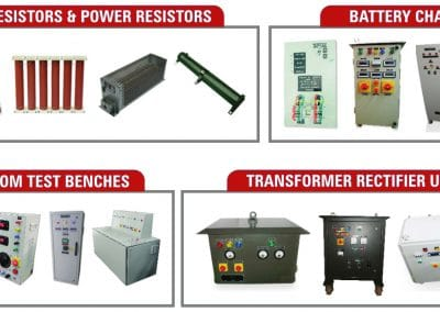 BRAKING RESISTORS | POWER RESISTORS | CUSTOM TEST BENCHES | TRU | SVR