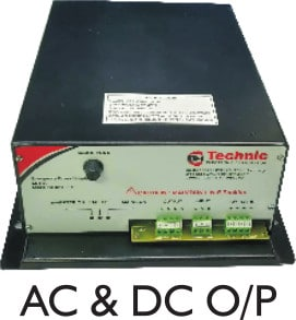 Emergency Power Supply with AC-DC Output