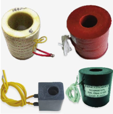 Molded & Unmoulded Solenoid Coils