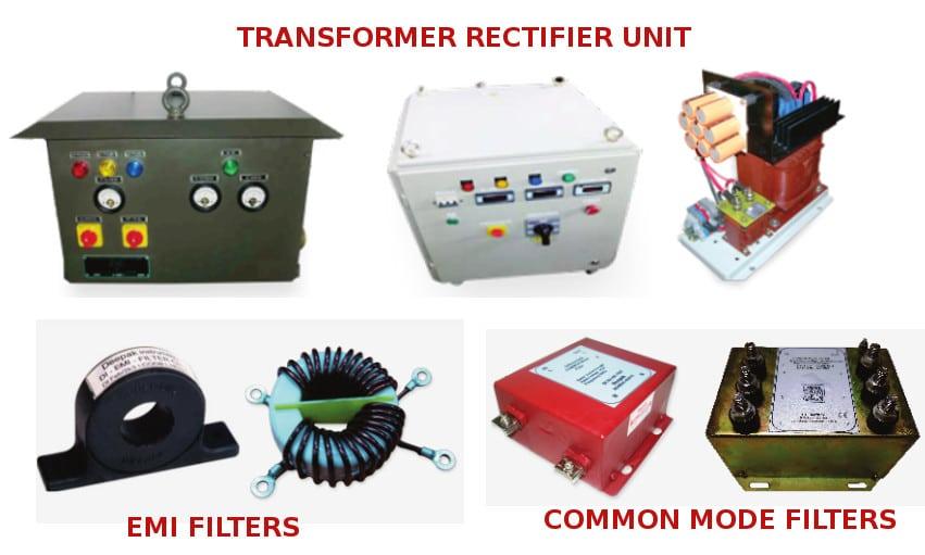 Transformer Rectiifer Units & Filters